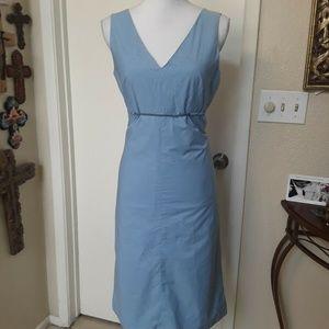 Banana Republic Dress Size 8 Blue Color